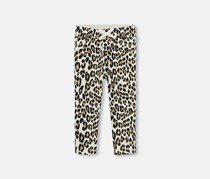 The Children's Place Leopard Print Pajama, Pearly Whites