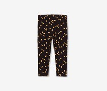 The Children's Place Printed Leggings, Black
