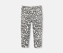 The Children's Place Baby Girl's Allover Print Pants,  Simply White