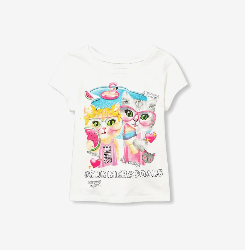 Toddler Graphic Top, Bunnys Tail