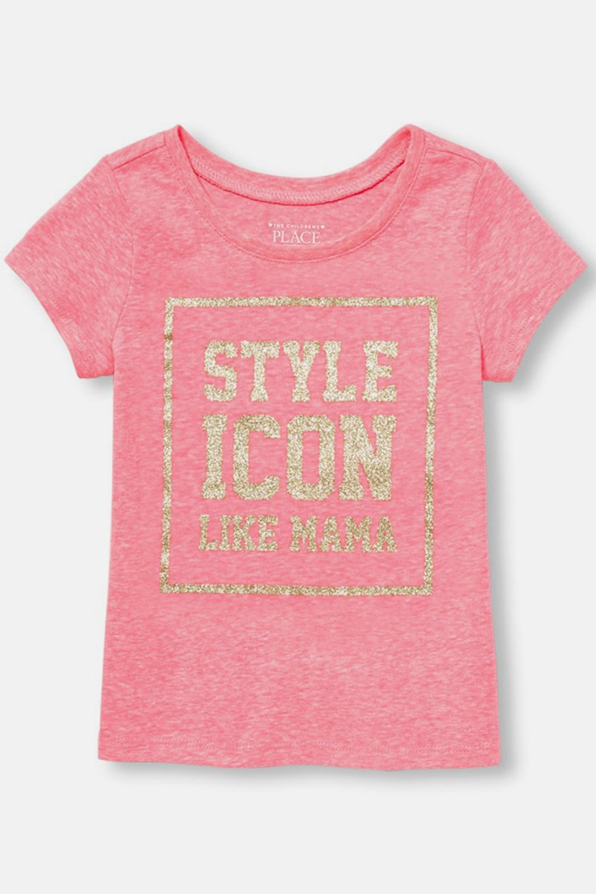 Style Icon Like Mama Tee,  Neon Pink
