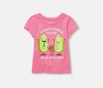 The Children's Place Toddler Girl's Graphic Print Shirt, Pink Burst