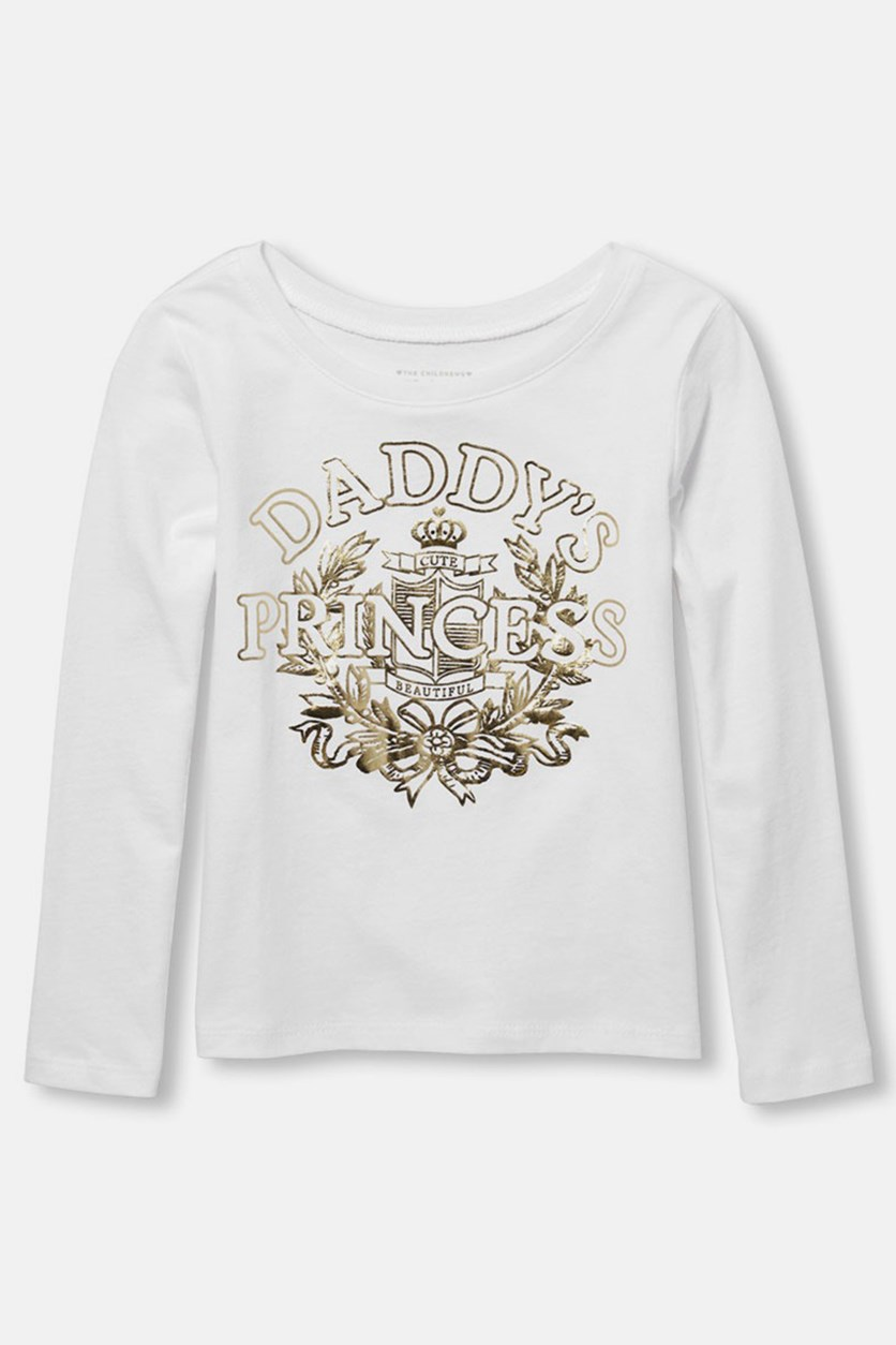 Toddlers Graphic Tops, White