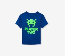 The Childrens Place Toddler Boys Player Two Tee, Inked