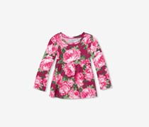 The Children's Place Toddler Floral Dress, Pink/Green
