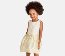 The children's place Toddler Sleeveless Dress, Gold