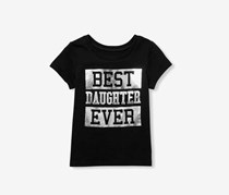 The Children's Place Little Girls Top, Black