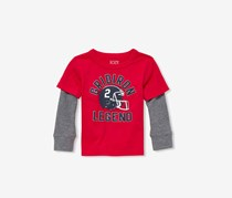 The Children's Place Long Sleeve Tops, Ruby