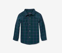 The Children's Place Longs sleeve Button-Down Shirt, Green