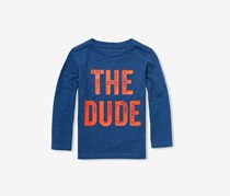 'The Dude' Graphic Tee T-Shirt, Blue
