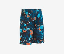 Under Armour Boy's Fracture Boost Short, Techno Teal