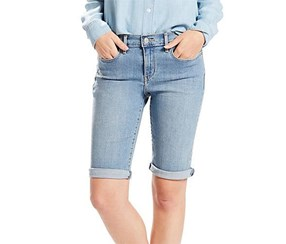 Levi's Women's Bermuda Shorts, Blue