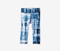 Toddlers  Jersey Tie-Dye Leggings, Blue Combo