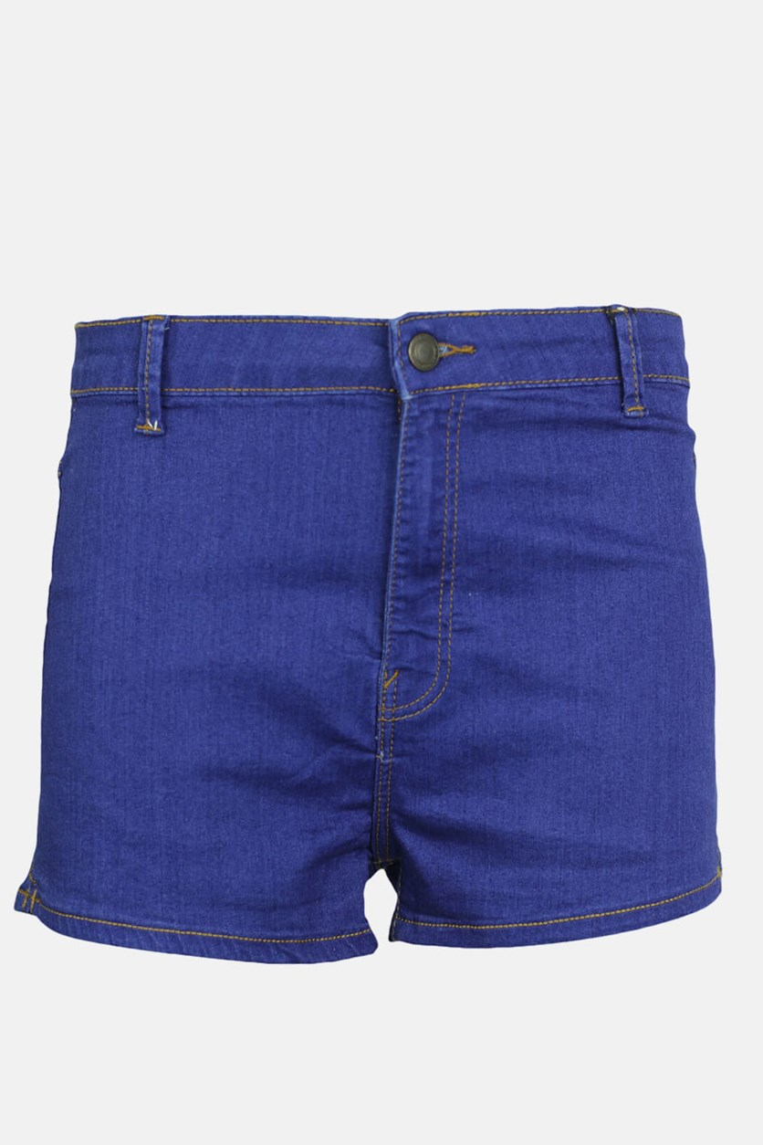 Women's High Waist Keira Shorts, Dark Blue