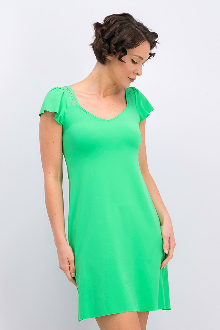 Women's Robe Dress, Green