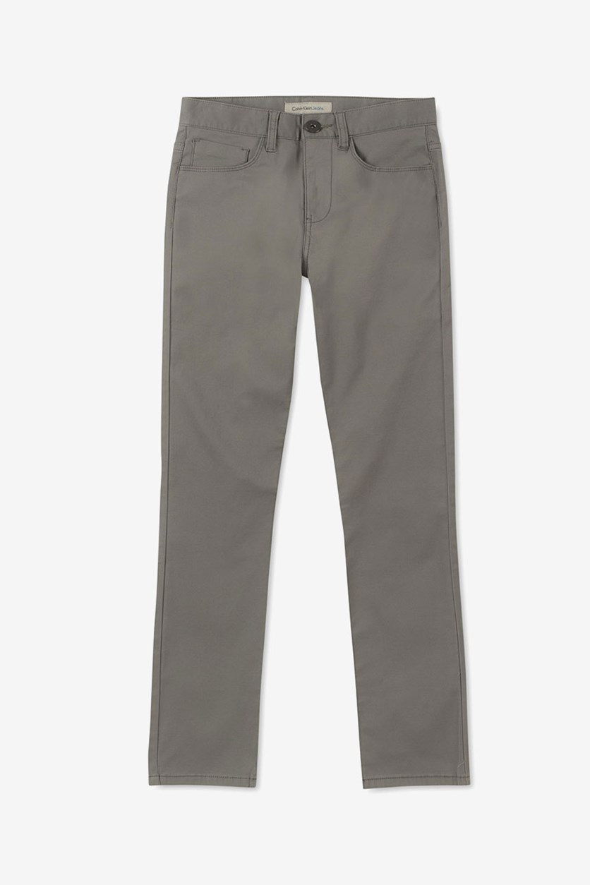 Big Boys Hazey Twill Pants, Grey