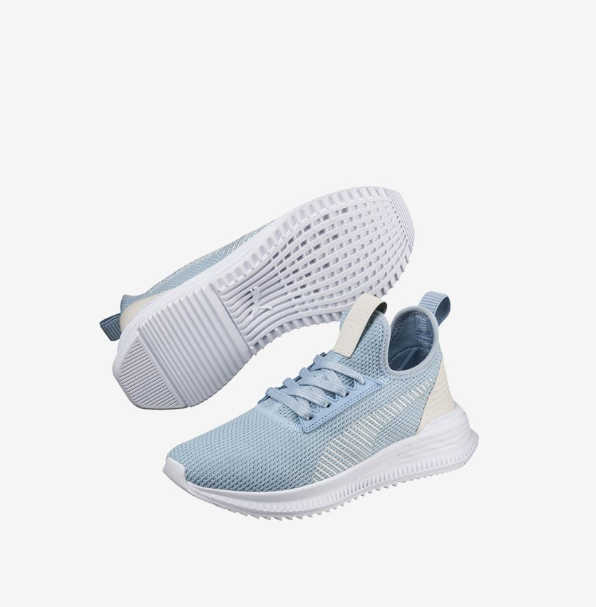 Women's  AVID FoF Sneakers, Cerulean Whisper White