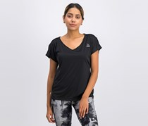 Reebok Women's One Series Sustain T-Shirt, Black