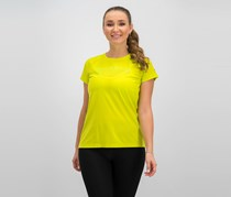 Puma Women's Nightcat Running Shirt, Lime