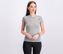 Women's Short Sleeve Top, Gray