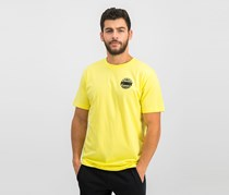 Puma Men's Diamond Logo T-Shirt, Yellow