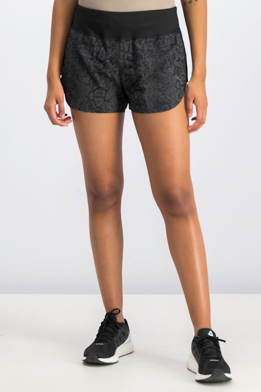 Women's Night Cat Shorts, Black
