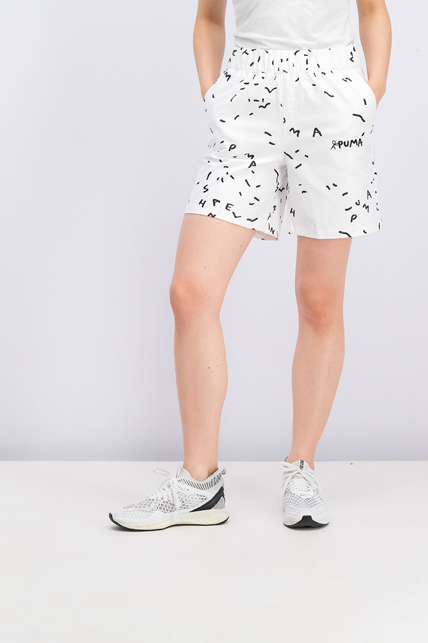 Prints Shantell Martin  Shorts, White