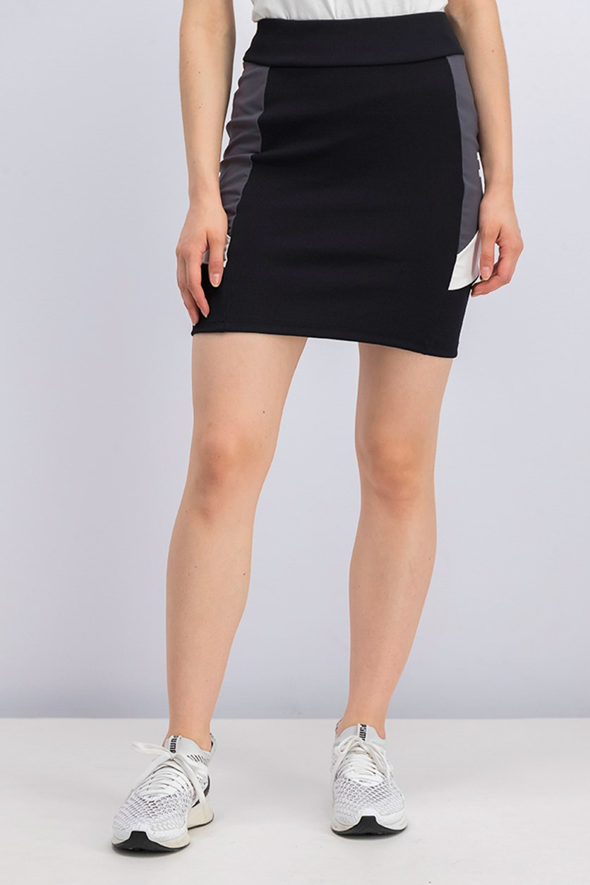 Women's Retro Tight Skirt, Black