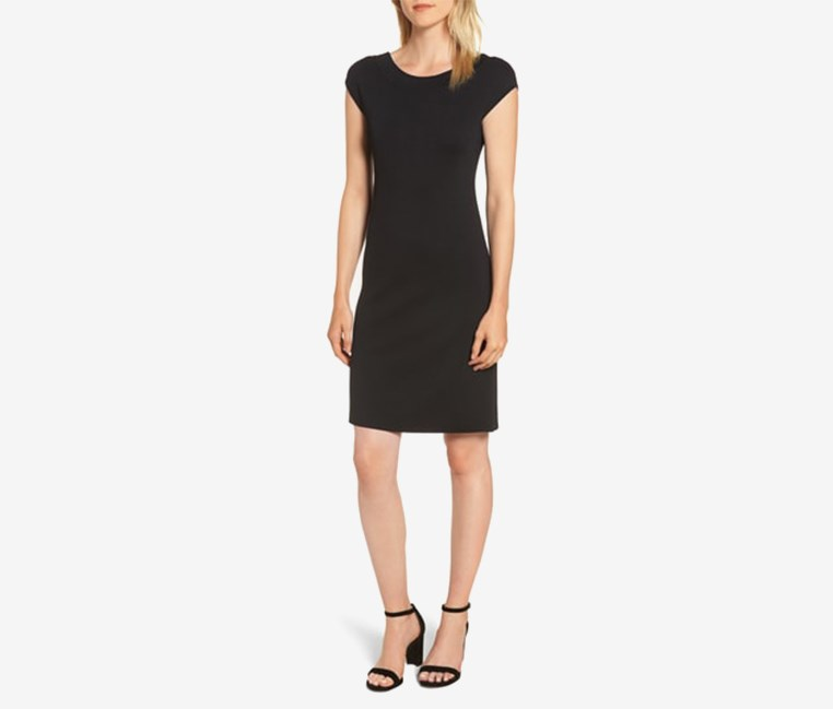 Women's Shift Dress, Black