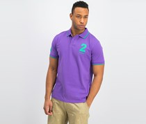 Hackett Men's Tailored Fit Polo Shirt, Purple