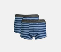 William Hunt Men's Stripes Set of 2 Boxer Briefs, Blue