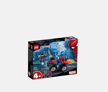 LEGO Spider-Man Chase Building Kit, Red Combo