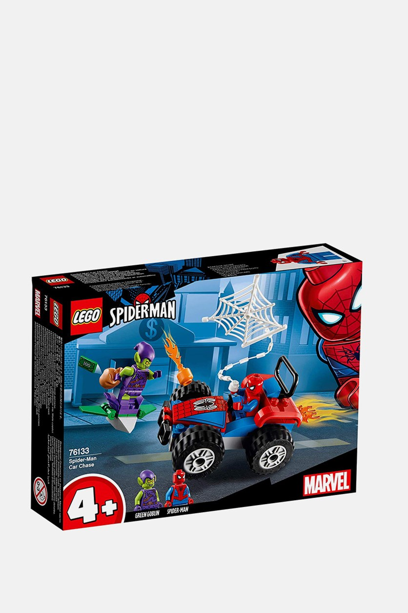 Spider-Man Chase Building Kit, Red Combo