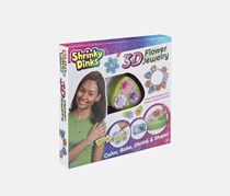 Alex Shrinky Dinks 3D Flower Jewelry, Green Combo