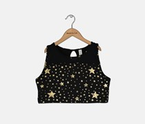 Ideology Big Girls Plus Layered-Look Graphic-Print Tank Top, Black Combo