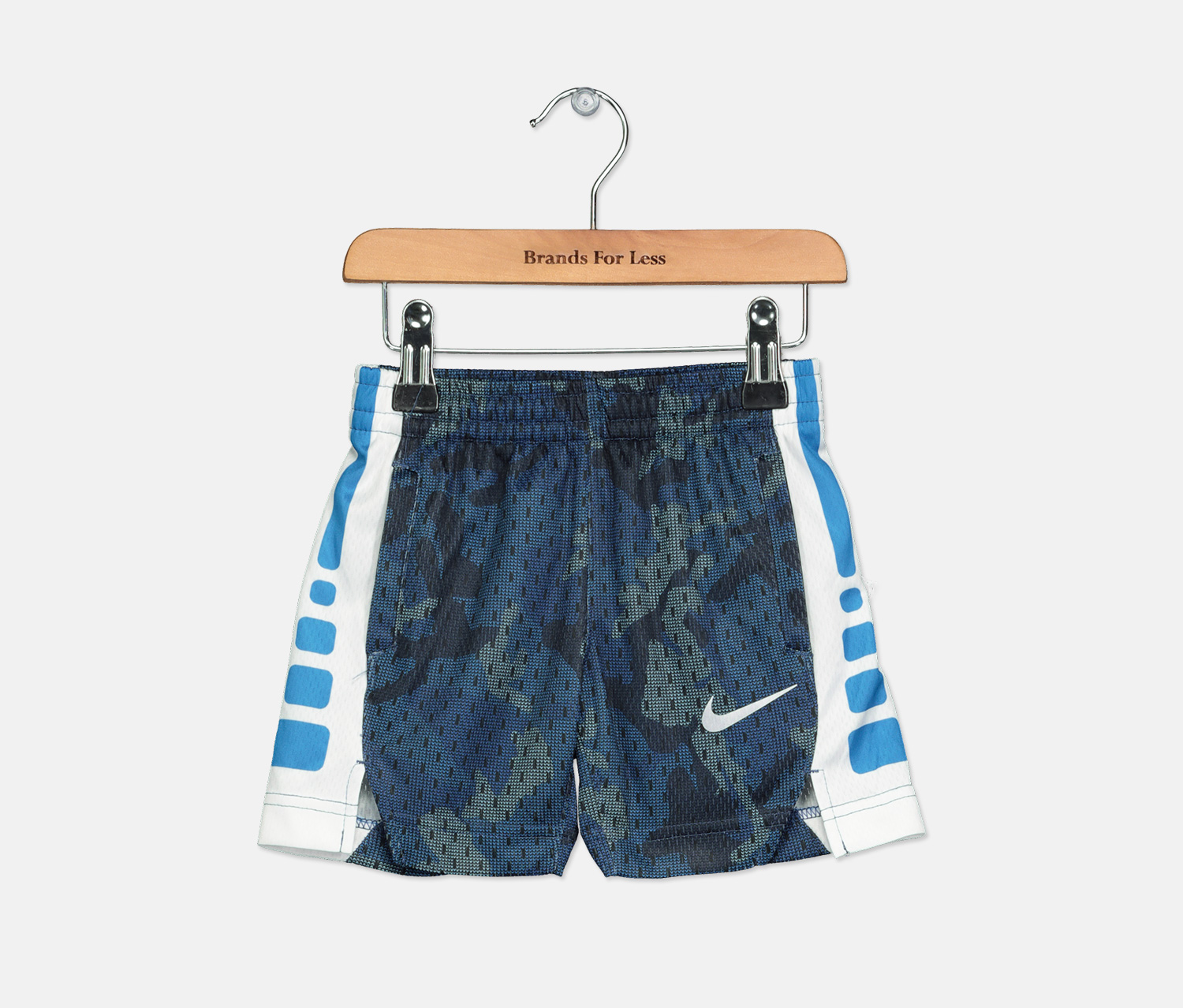 Toddler Boy's Elite Camo-Print Shorts, Blue Void
