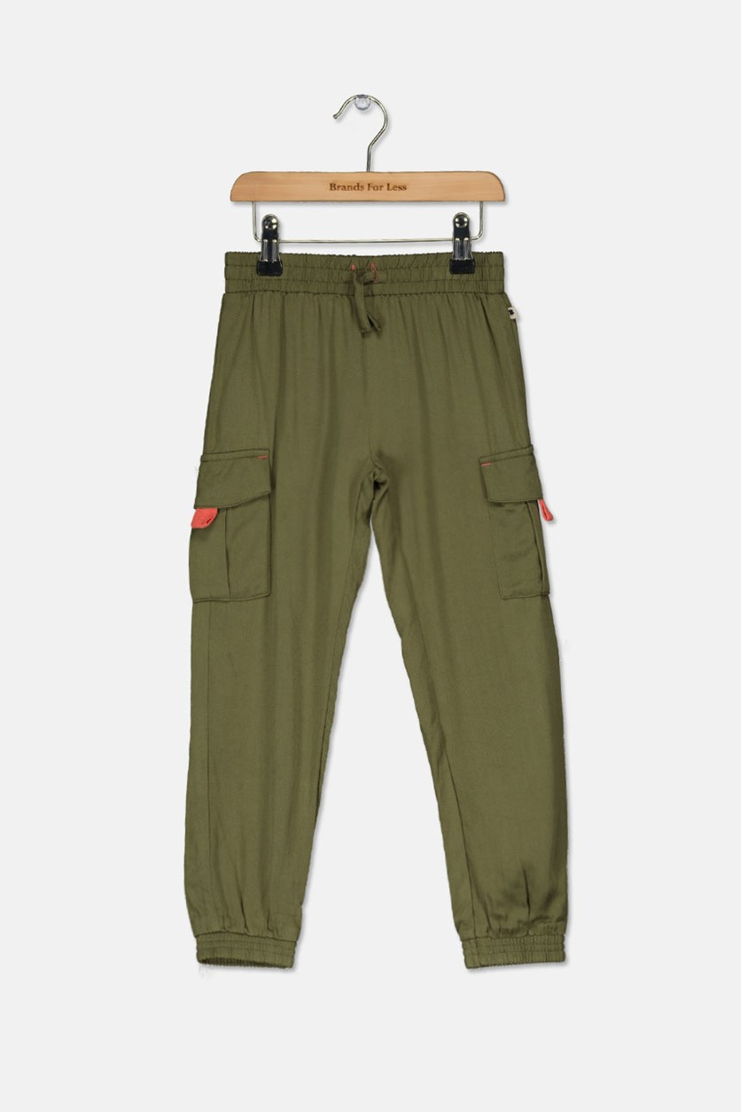 Girl's  Faye Pants, Winter Moss