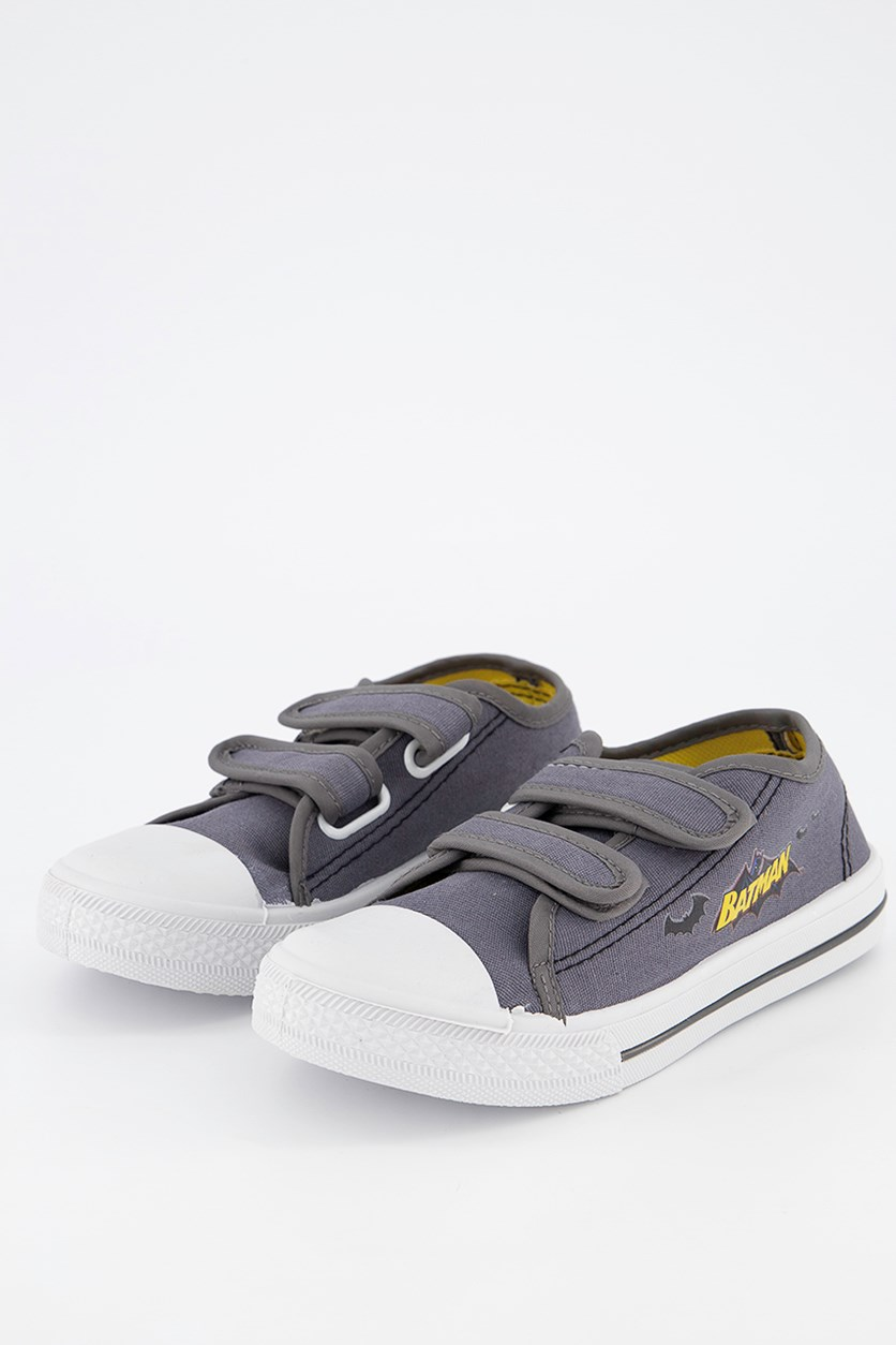 Kids Boys Slip-on Sneakers, Grey