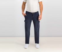 Men's Canvas Cargo Pants, Dark Blue