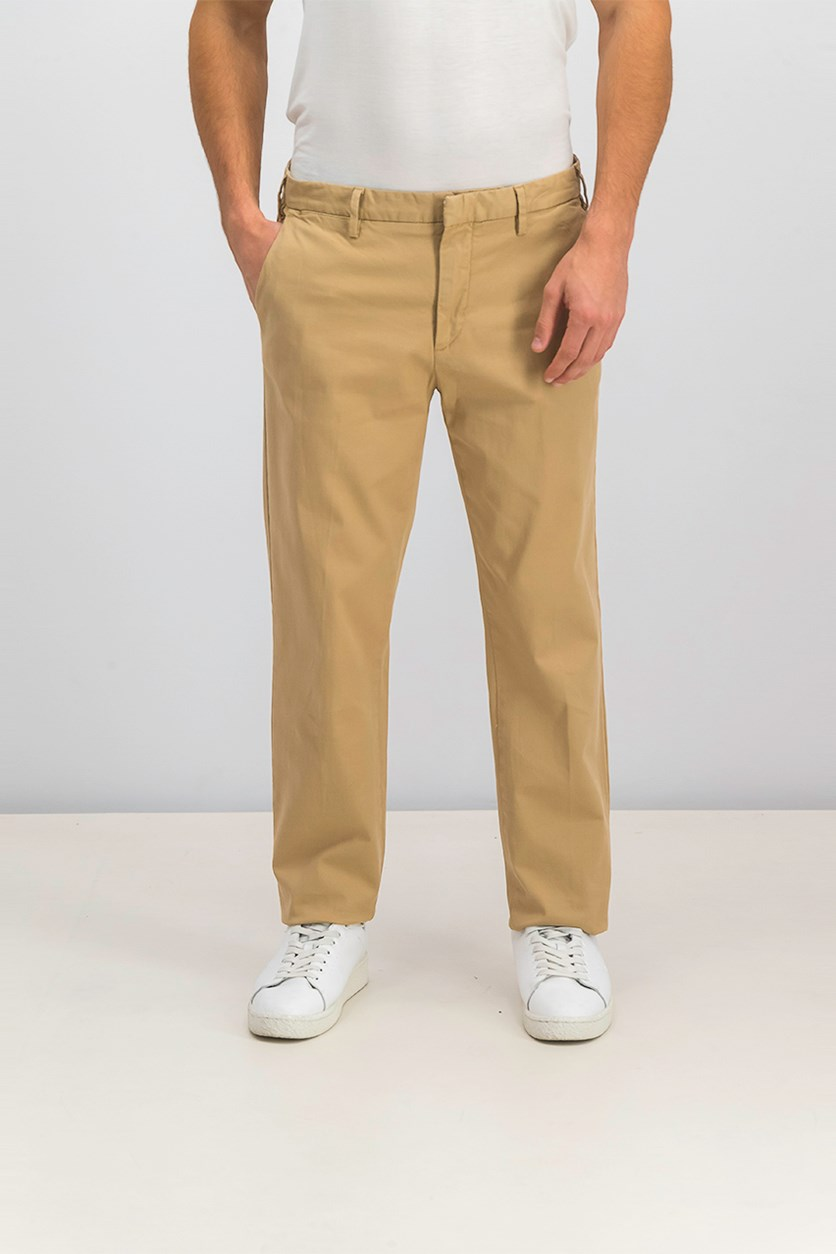 Men's Chino Pants, Khaki Beige