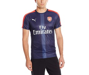 Puma Men's AFC Stadium Jersey Top, Navy