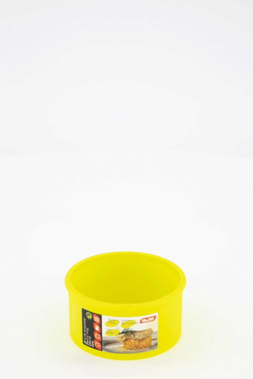 Cutting Ring Nylon 9 x 4.50 cm, Yellow Green