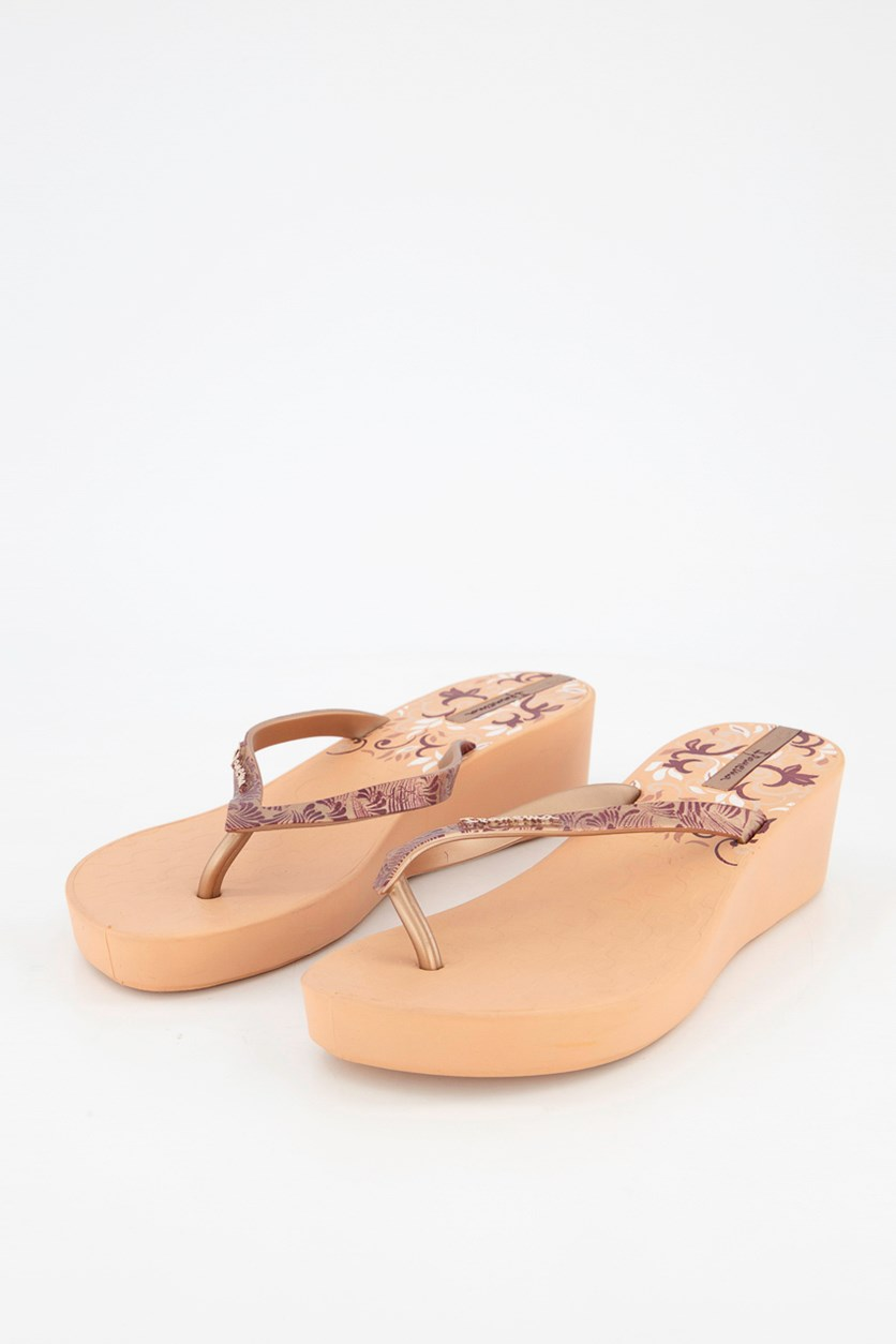 Deco Platform III Wedge, Peach