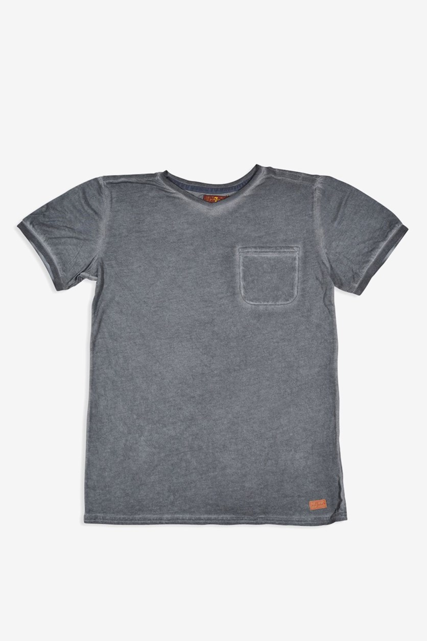 Kids Boys V-Neck Tee, Castlerock