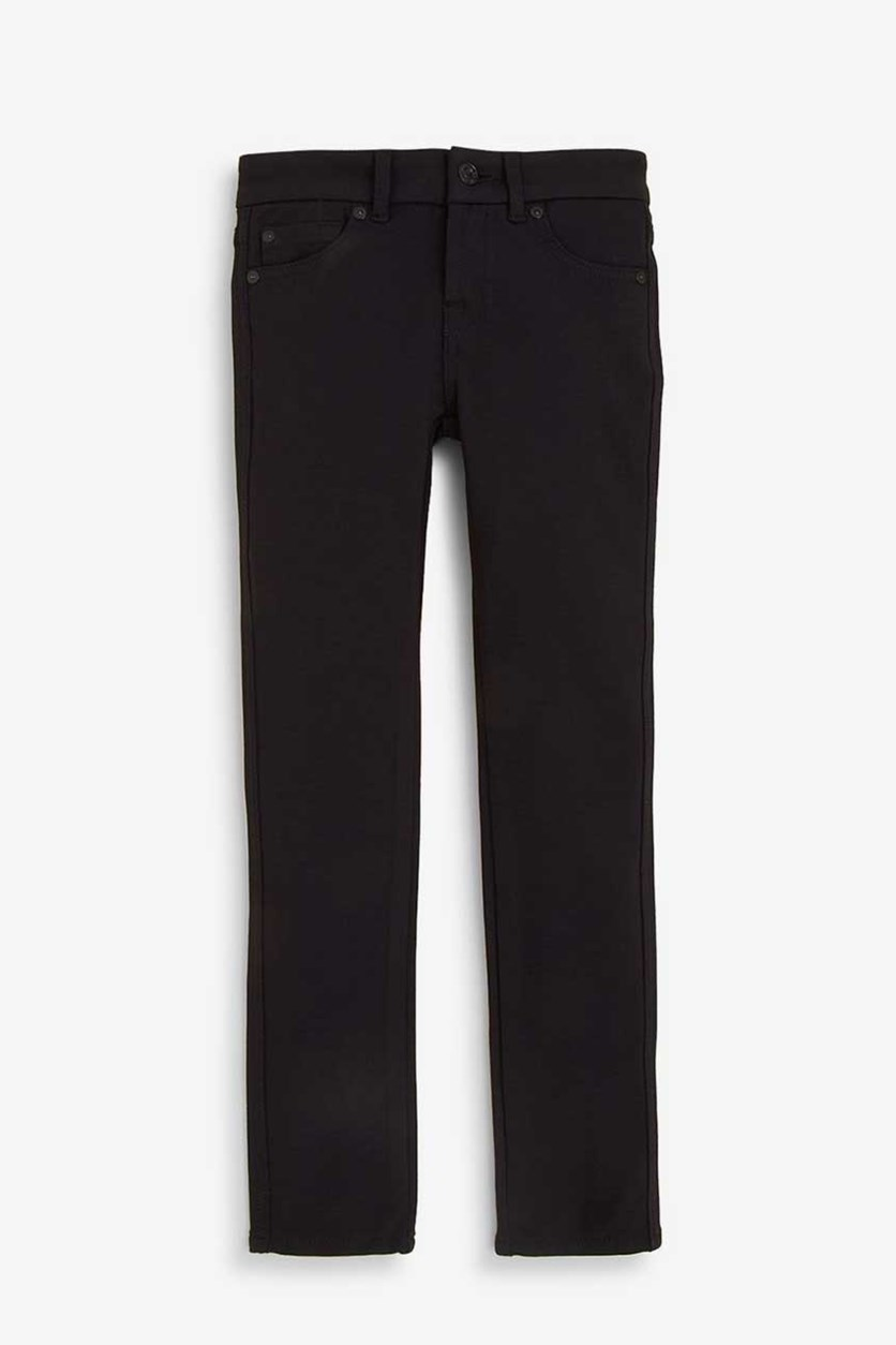 Big Girls' Ponte Pants, Black