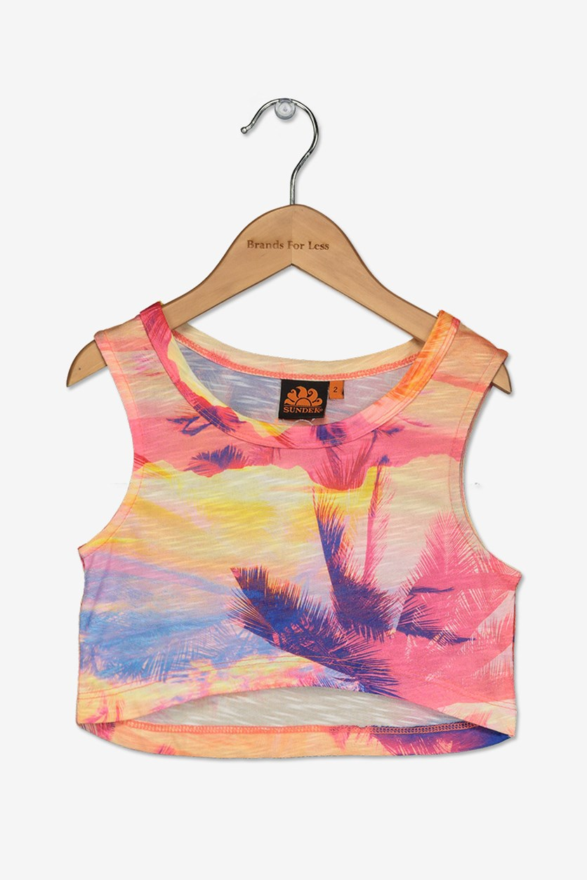 Little Girl's Mini Hoshiko Tank Top, Sunkissed