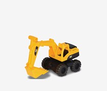 Toy State Cat Mini Workers Tough Tracks Excavator, Yellow