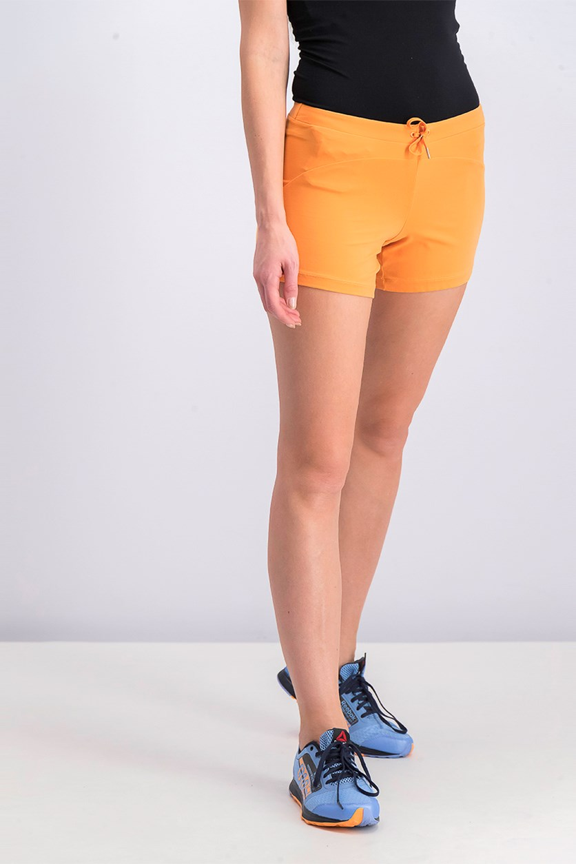 Women's No Pocket Short, Orange