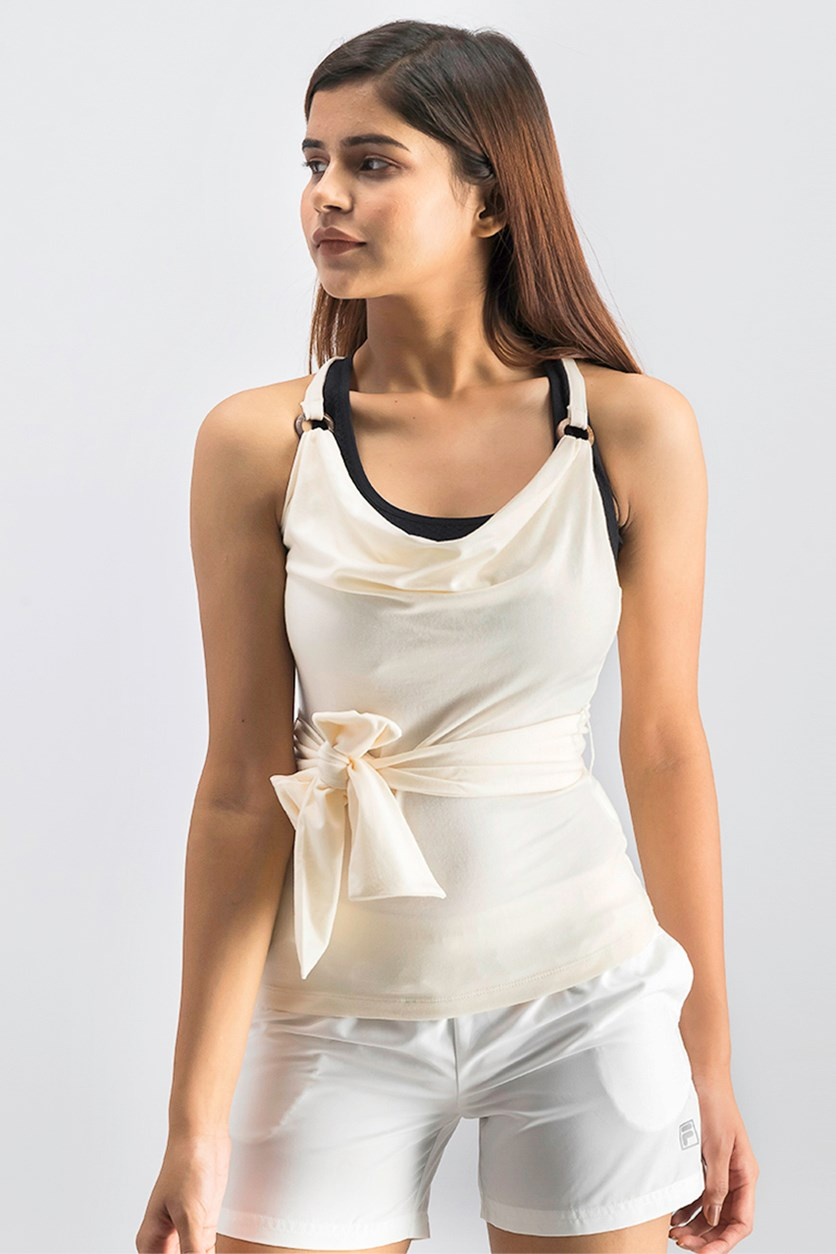 Women's Sleeveless Top, Ivory