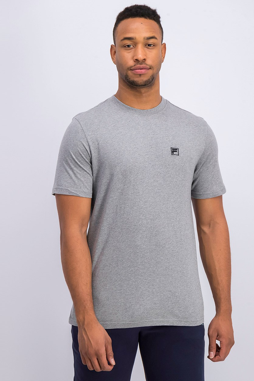 Men's Short Sleeve Cotton T-Shirt, Gray